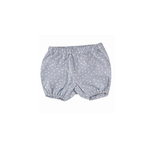 Pigeon Organics Bloomers - Spots on Blue-Pants- Natural Baby Shower