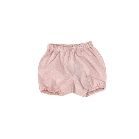 Pigeon Organics Bloomers - Spots on Pink-Pants- Natural Baby Shower