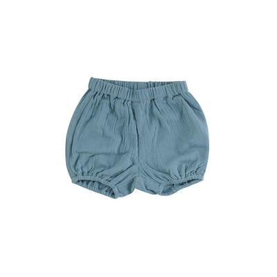 Pigeon Organics Bloomers - Turquoise-Shorts- Natural Baby Shower