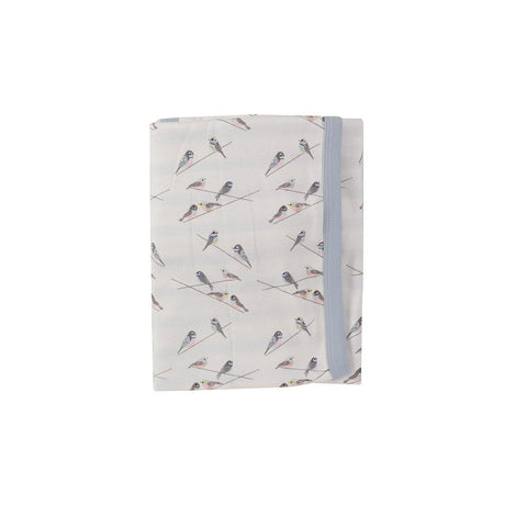 Pigeon Organics Reversible Blanket - Birds-Blankets-Birds- Natural Baby Shower