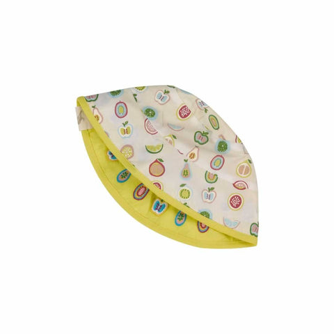 Pigeon Organics Reversible Sun Hat - Fruit Print - Hats - Natural Baby Shower