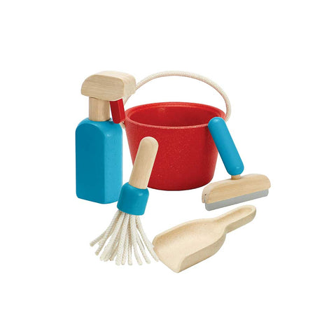Plan Toys Cleaning Set-Play Sets- Natural Baby Shower