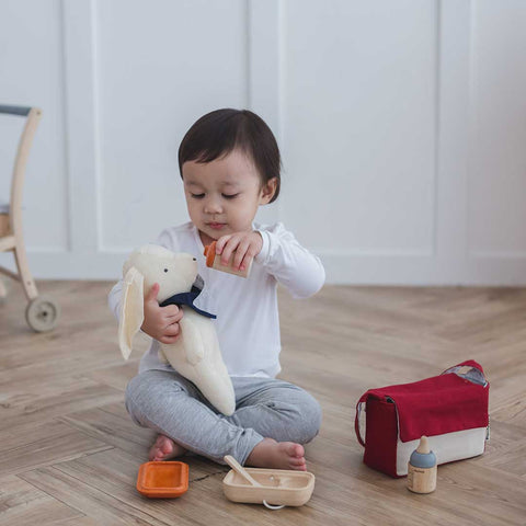 Plan Toys Doll Feeding Set-Play Sets- Natural Baby Shower