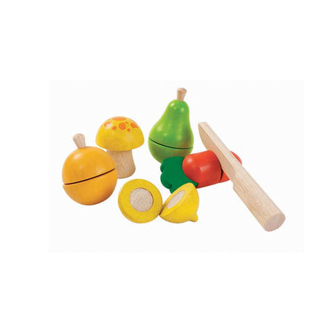 Plan Toys Fruit & Vegetable Set-Play Sets- Natural Baby Shower