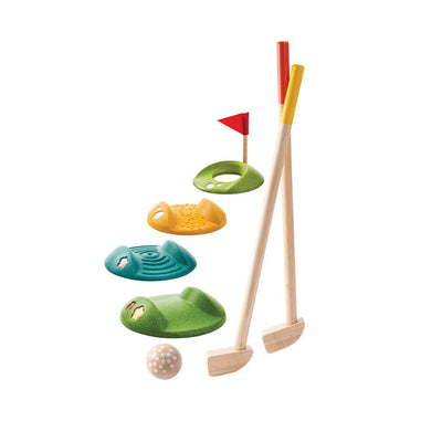 Plan Toys Mini Golf Set-Play Sets- Natural Baby Shower