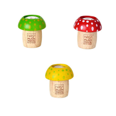 Plan Toys Mushroom Kaleidoscope (1 Piece)-Play Sets- Natural Baby Shower