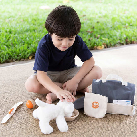 Plan Toys Pet Care Set-Play Sets- Natural Baby Shower