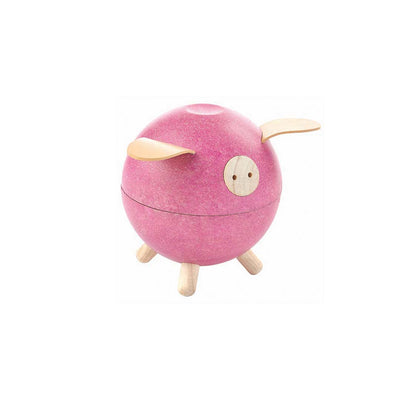 Plan Toys Piggy Bank - Pink-Play Sets- Natural Baby Shower
