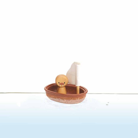 Plan Toys Sailing Boat - Walrus Lifestyle
