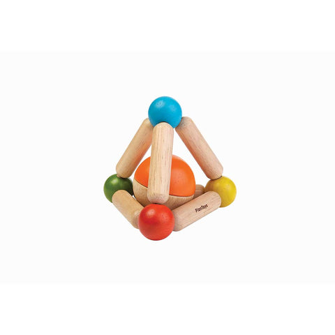 Plan Toys Triangle Clutching Toy - Bright