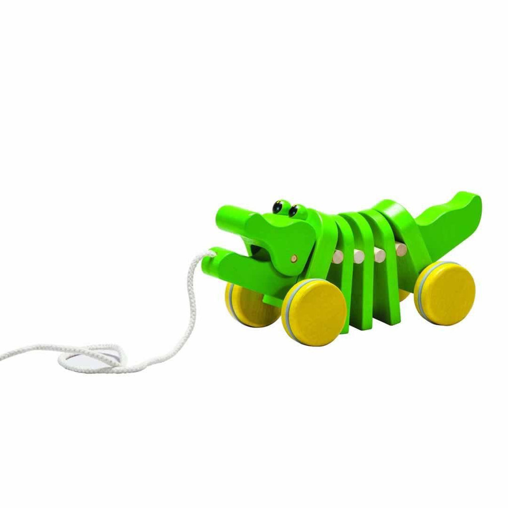 Plan Toys Dancing Alligator-Baby Walkers- Natural Baby Shower
