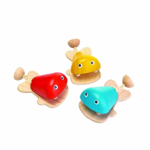 Plan Toys Fish Castanet