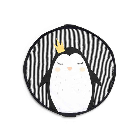 Play & Go Soft Mat - Penguin-Play Mats- Natural Baby Shower