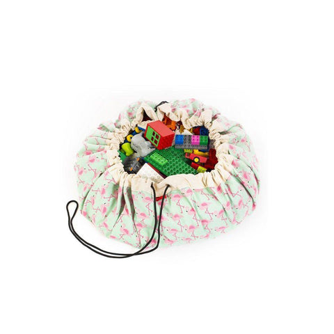 Play & Go Toy Storage Bag - Flamingo 1
