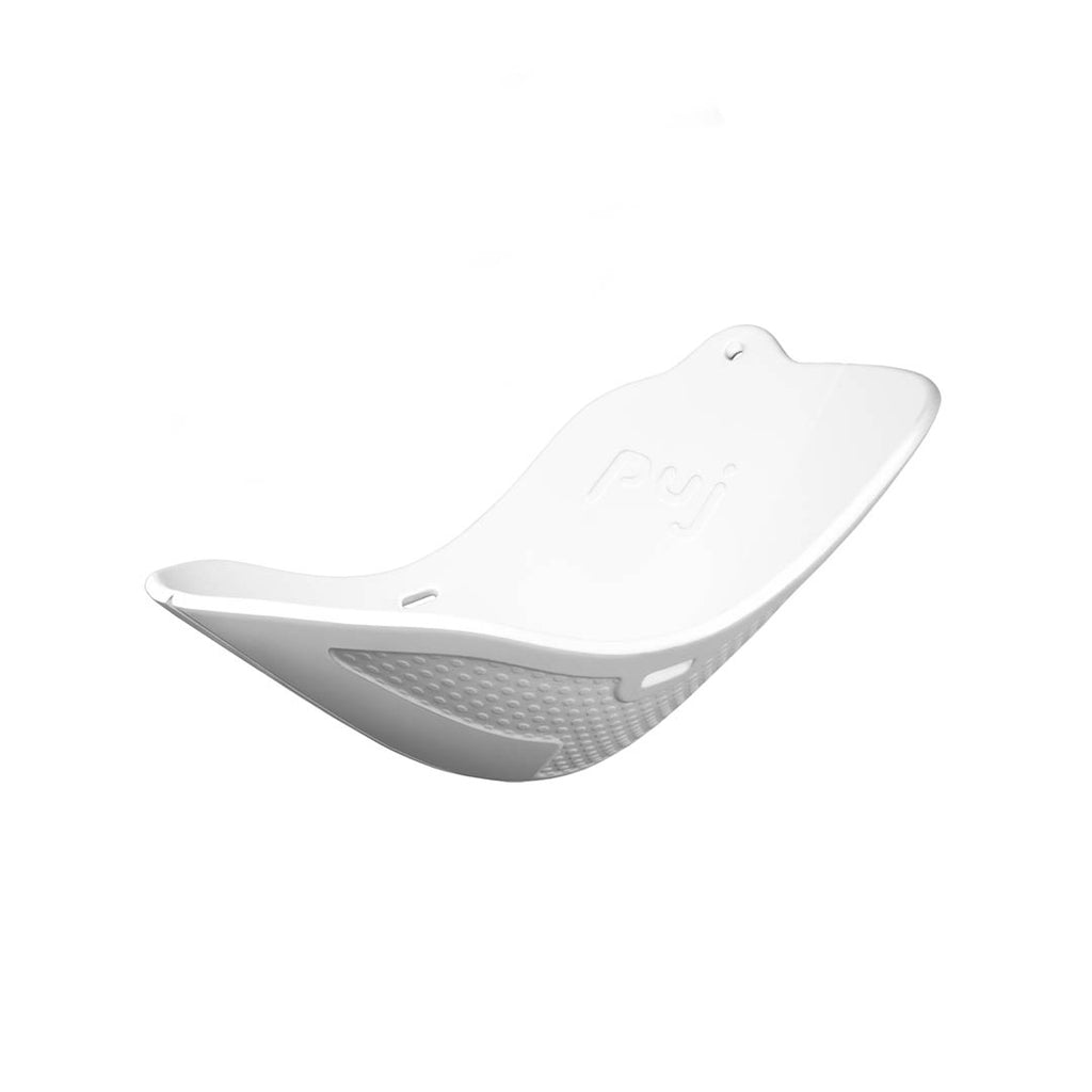 Puj Flyte Foldable Bath Insert in White – Natural Baby Shower