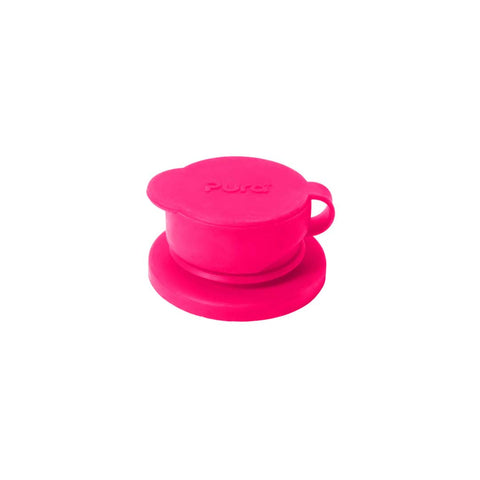 Pura Big Mouth Silicone Sport Top - Pink Sleeve-Bottles- Natural Baby Shower