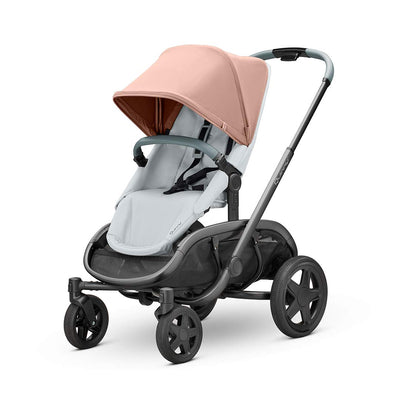 Quinny Hubb Pushchair - Graphite & Cork on Grey-Strollers- Natural Baby Shower