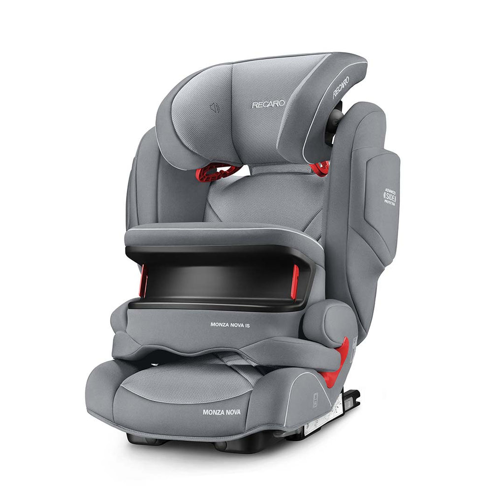 RECARO Monza Nova IS Car Seat - Aluminium Grey