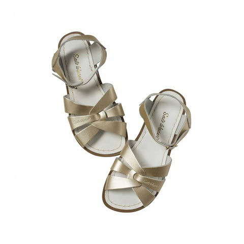 Salt-Water Kids Sandals - Original - Gold-Sandals- Natural Baby Shower