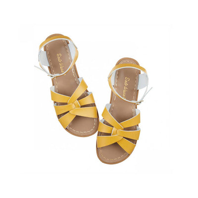 Salt-Water Kids Sandals - Original - Mustard-Sandals- Natural Baby Shower