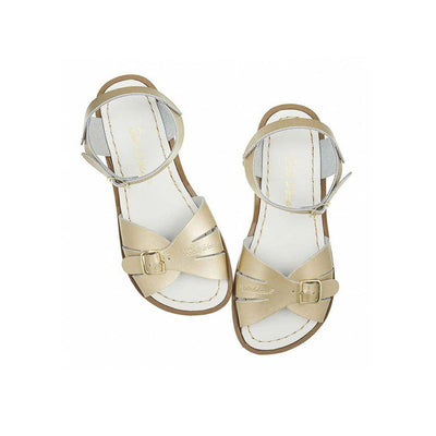Salt-Water Womens Sandals - Classic - Gold-Adult Sandals- Natural Baby Shower
