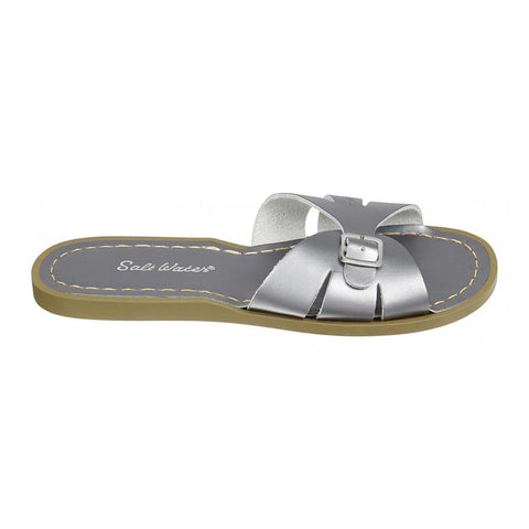 Salt-Water Womens Sandals - Slide - Pewter-Sandals- Natural Baby Shower
