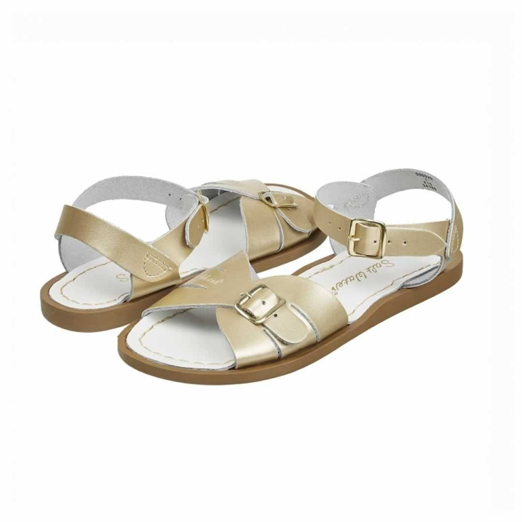 Salt-Water Womens Sandals - Classic Premium - Gold - Sandals - Natural Baby Shower
