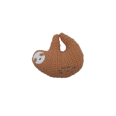 Sebra Crochet Rattle - Lacey the Sloth-Rattles- Natural Baby Shower