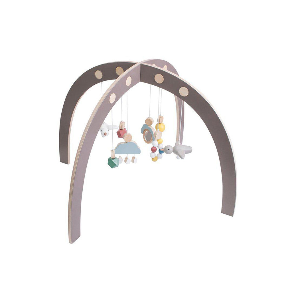 Sebra Play Gym - Warm Grey-Baby Gym- Natural Baby Shower