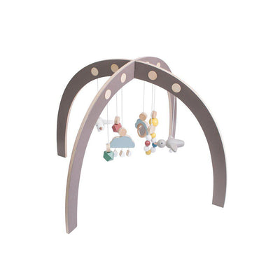 Sebra Play Gym - Warm Grey-Baby Gyms- Natural Baby Shower