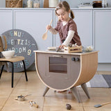 Sebra Play Kitchen - Warm Grey-Play Sets- Natural Baby Shower