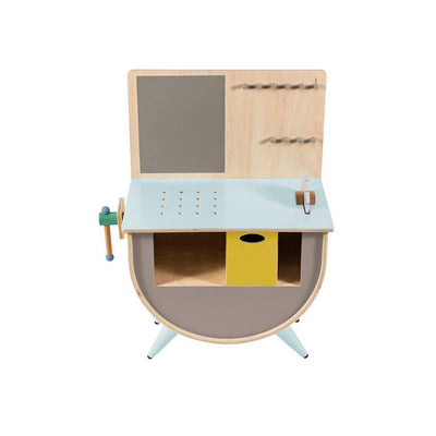 Sebra Play Tool Bench - Warm Grey-Play Sets- Natural Baby Shower