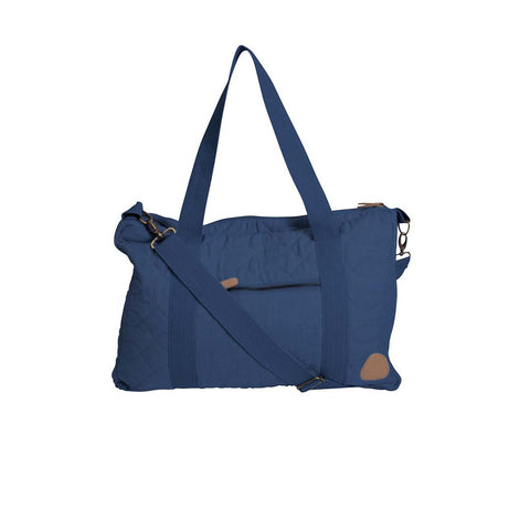 Sebra Quilted Changing Bag - Royal Blue-Changing Bags- Natural Baby Shower