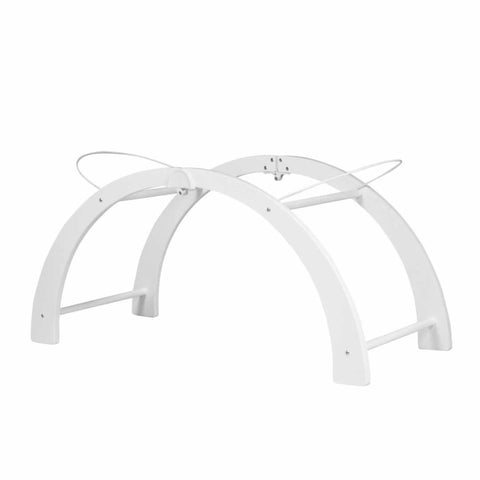 Shnuggle Curved Folding Stand - White - Moses Baskets - Natural Baby Shower