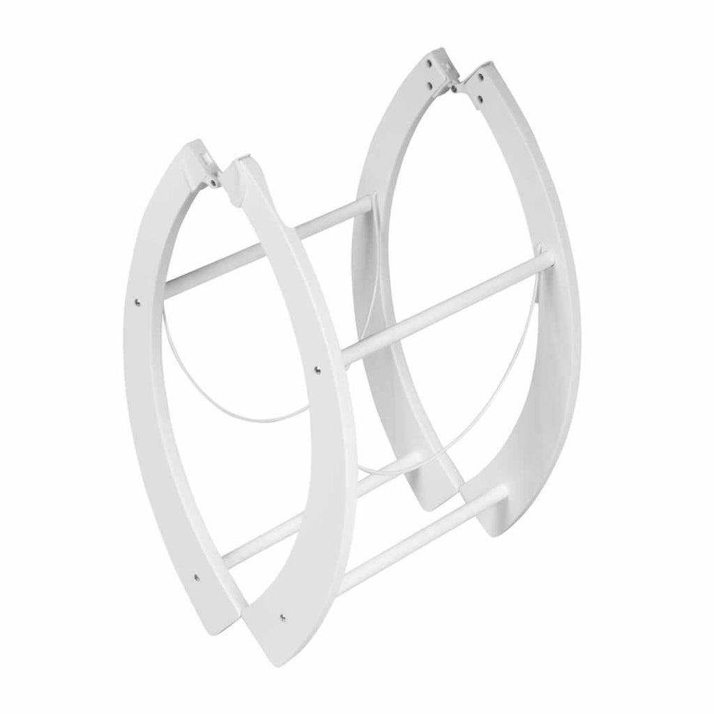 Shnuggle Curved Folding Stand White
