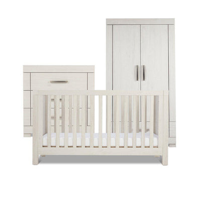 Silver Cross 3 Piece Furniture Set - Coastline-Nursery Sets-No Mattress- Natural Baby Shower