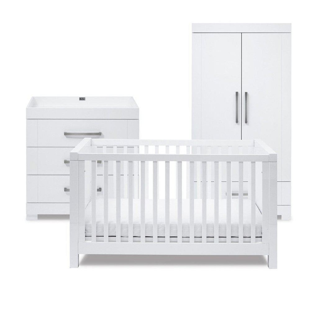 Silver Cross 3 Piece Furniture Set Notting Hill Natural Baby Shower