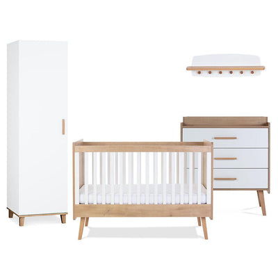 Silver Cross 4 Piece Furniture Set - Westport-Nursery Sets- Natural Baby Shower