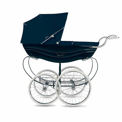Silver Cross Balmoral Pushchair - Navy-Strollers- Natural Baby Shower