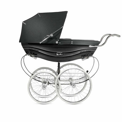 Silver Cross Balmoral Pushchair - Black-Strollers- Natural Baby Shower