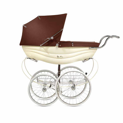 Silver Cross Balmoral Pushchair - Cream-Strollers- Natural Baby Shower