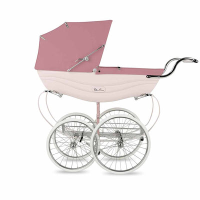Silver Cross Balmoral Pushchair - Pink-Strollers- Natural Baby Shower