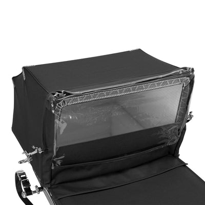 Silver Cross Balmoral Rain Shield - Black-Raincovers- Natural Baby Shower