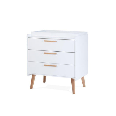 Silver Cross Brighton Dresser-Dressers & Chests- Natural Baby Shower