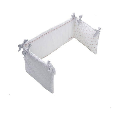 Silver Cross Bumper - Girls Floral-Cot Bumpers- Natural Baby Shower