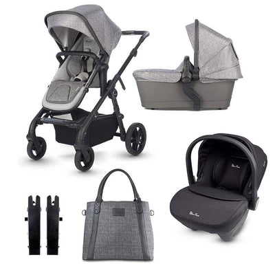 Silver Cross Coast Bundle - 2020 - Limestone-Travel Systems- Natural Baby Shower