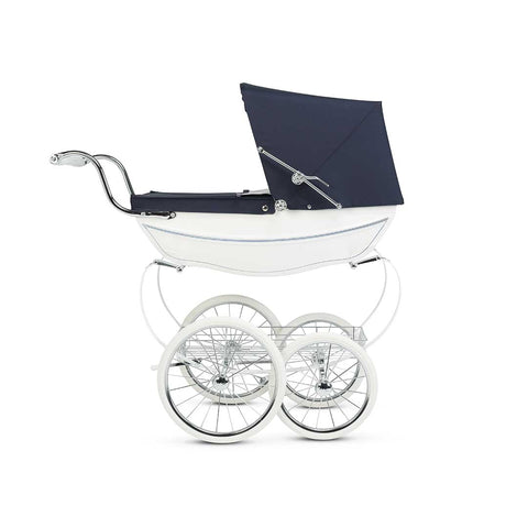 Silver Cross Dolls Pram - Oberon White-Dolls Prams & Accessories- Natural Baby Shower