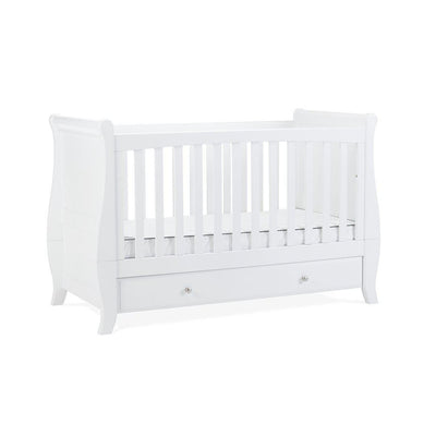Silver Cross Elegance Sleigh Cot Bed-Cot Beds- Natural Baby Shower