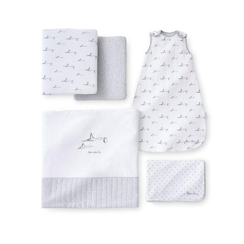Silver Cross Jersey New Baby Pack - 5 Piece-Clothing Sets- Natural Baby Shower