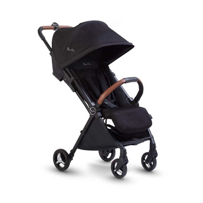 Silver Cross Jet Pushchair - Black-Strollers- Natural Baby Shower